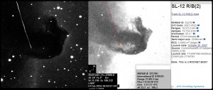 Horsehead Nebula and SL-12 Rocket Booster